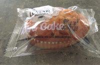 Mini-cakes aux pépites de chocolat noir - Produit