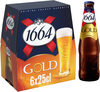 1664 - 6x25cl gold - 6.10 degre alcool - Product