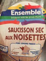Saucisson sec aux Noisettes - Produit - fr