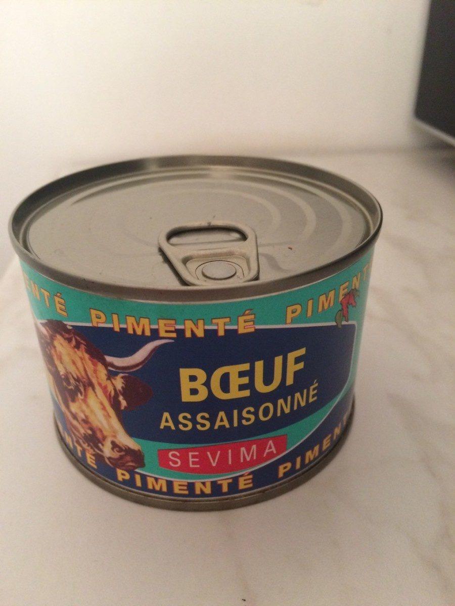 Bœuf assaisonné pimenté - Produit - fr