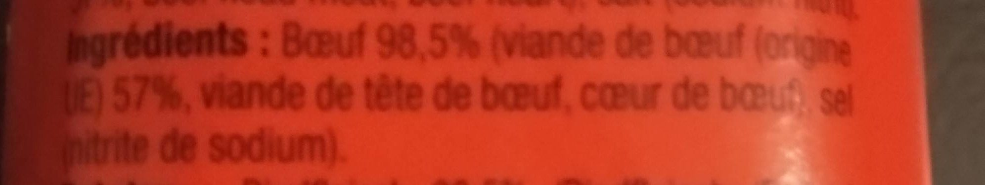 Corned Beef - Ingredients - fr