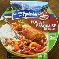 Poulet basquaise, riz blanc, 300g - Product - fr