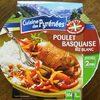 Poulet basquaise, riz blanc, 300g - Produit