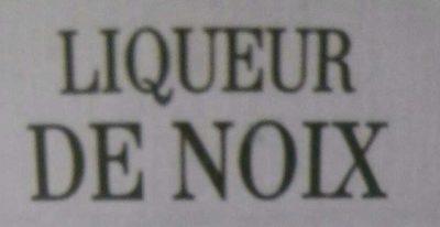 Liqueur de noix - Ingredients