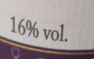 Crème de cassis - Voedingswaarden - fr