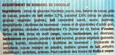 L'Authentique Petit Ourson Guimauve & Ses Amis - Ingrédients - fr