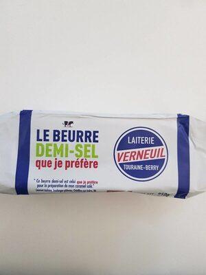 Le beurre demi-sel que je préfère - Produit - fr