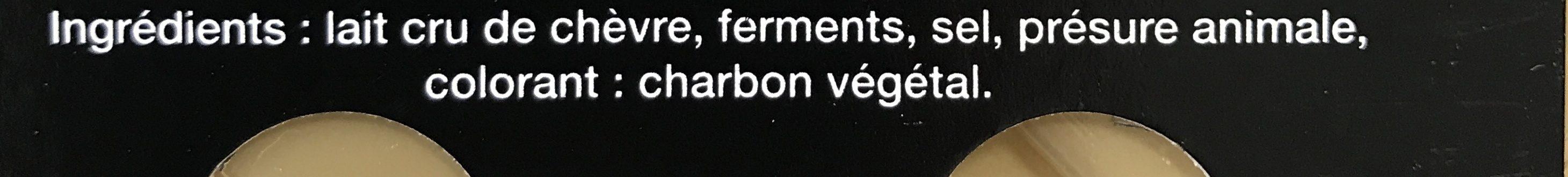 Valençay Aoc, Fromage De Chèvre Au Lait Cru, L'unité De 220g - Ingrediënten - fr