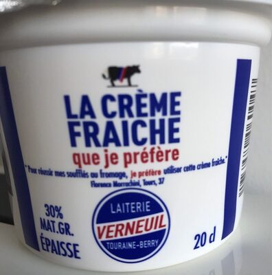 Creme fraiche que je préfére - Produit - fr