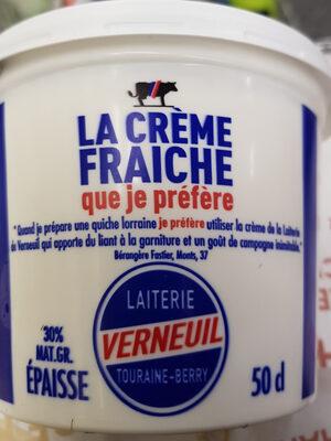 Crème Fraîche épaisse - Produit - fr