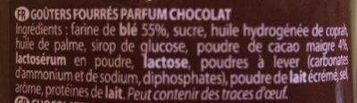 Choco - Ingrediënten - fr