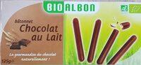 Bâtonnet chocolat au lait - Product - fr