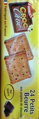Croc choc petits beurre - Produit