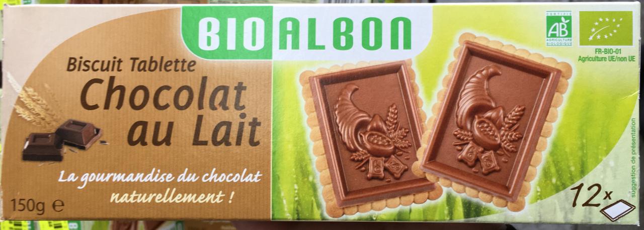 Biscuit tablette Chocolat au Lait - Prodotto - fr