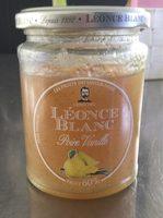 Confiture poire vanille - Product - fr