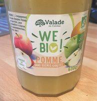 Compote Pomme sans sucre ajouté - Produit - fr