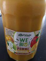 Compote Pomme Mangue SSA BIO - Produit - fr