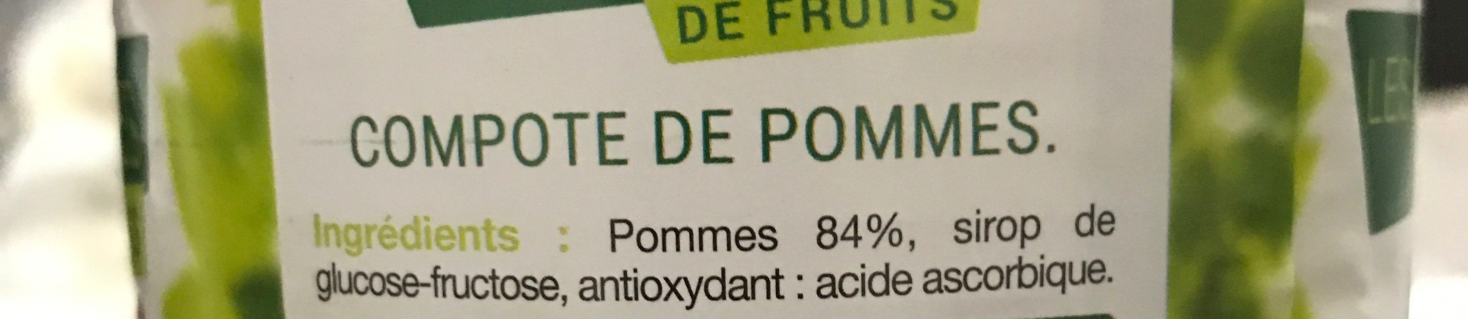 Compote De Pommes Valade 850 Gr, 3 Boîtes - Ingrédients