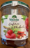 Confiture fraises et rhubarbe - Product - fr
