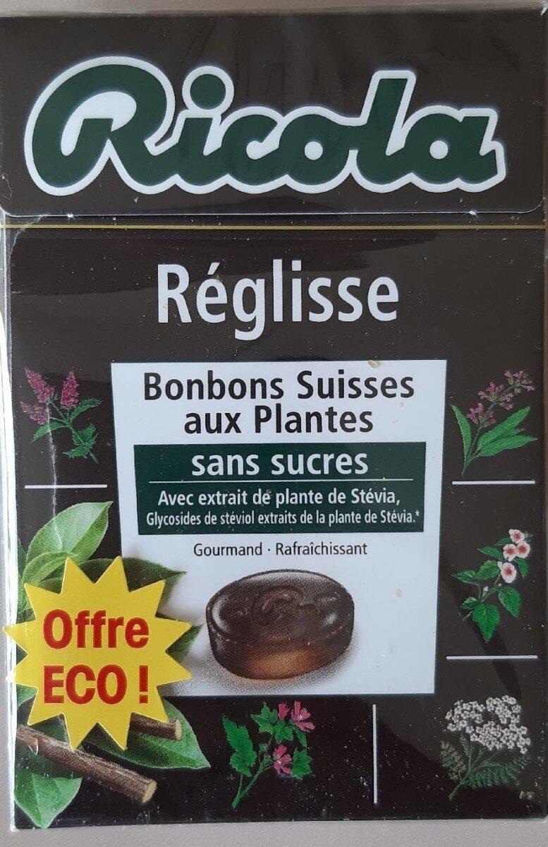 Ricola 50g s/s réglisse new offre éco - Product