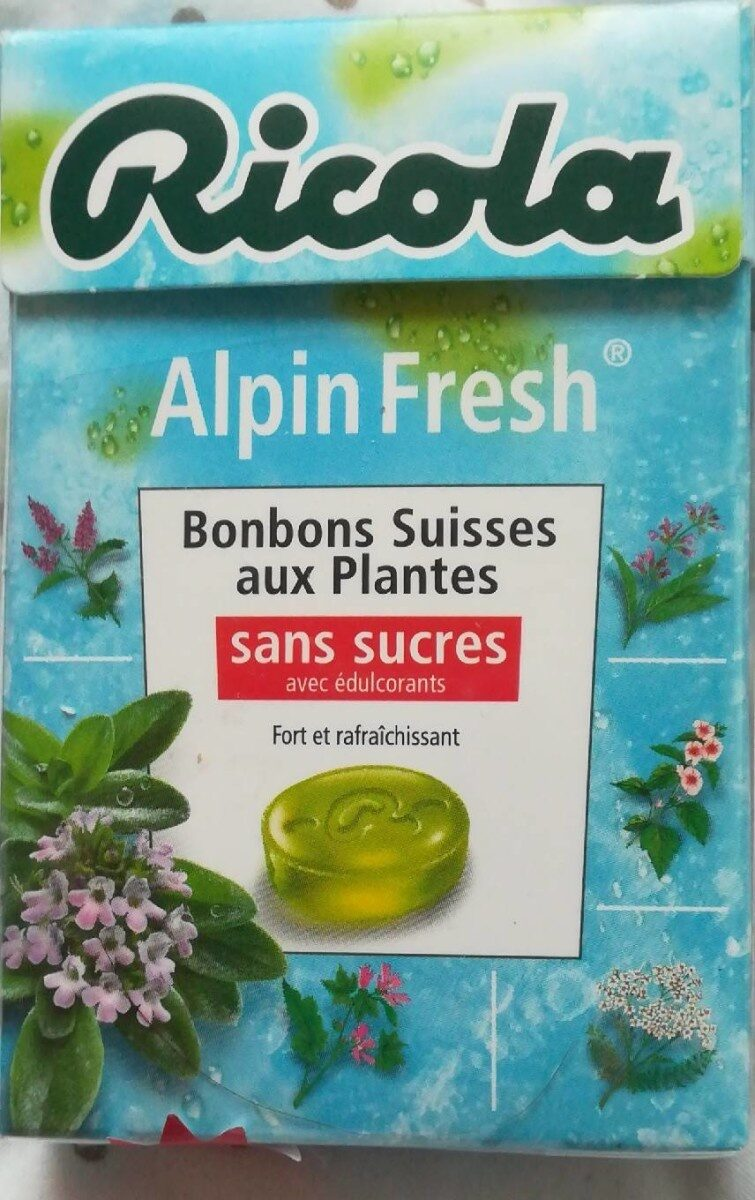 Ricola 50g s/s alpin fresh new offre éco - Product