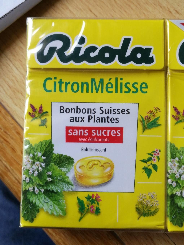 Citron mélisse - Produit