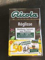 Ricola Réglisse - Produit
