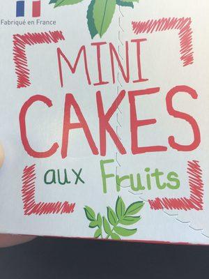 Mini cakes aux fruits - Product - en