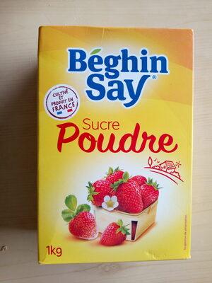 Sucre poudre - Produit - fr