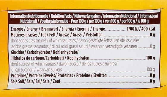 Blonvilliers morceaux - Informations nutritionnelles - fr