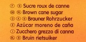 Blonvilliers poudre bec verseur - Ingrediënten