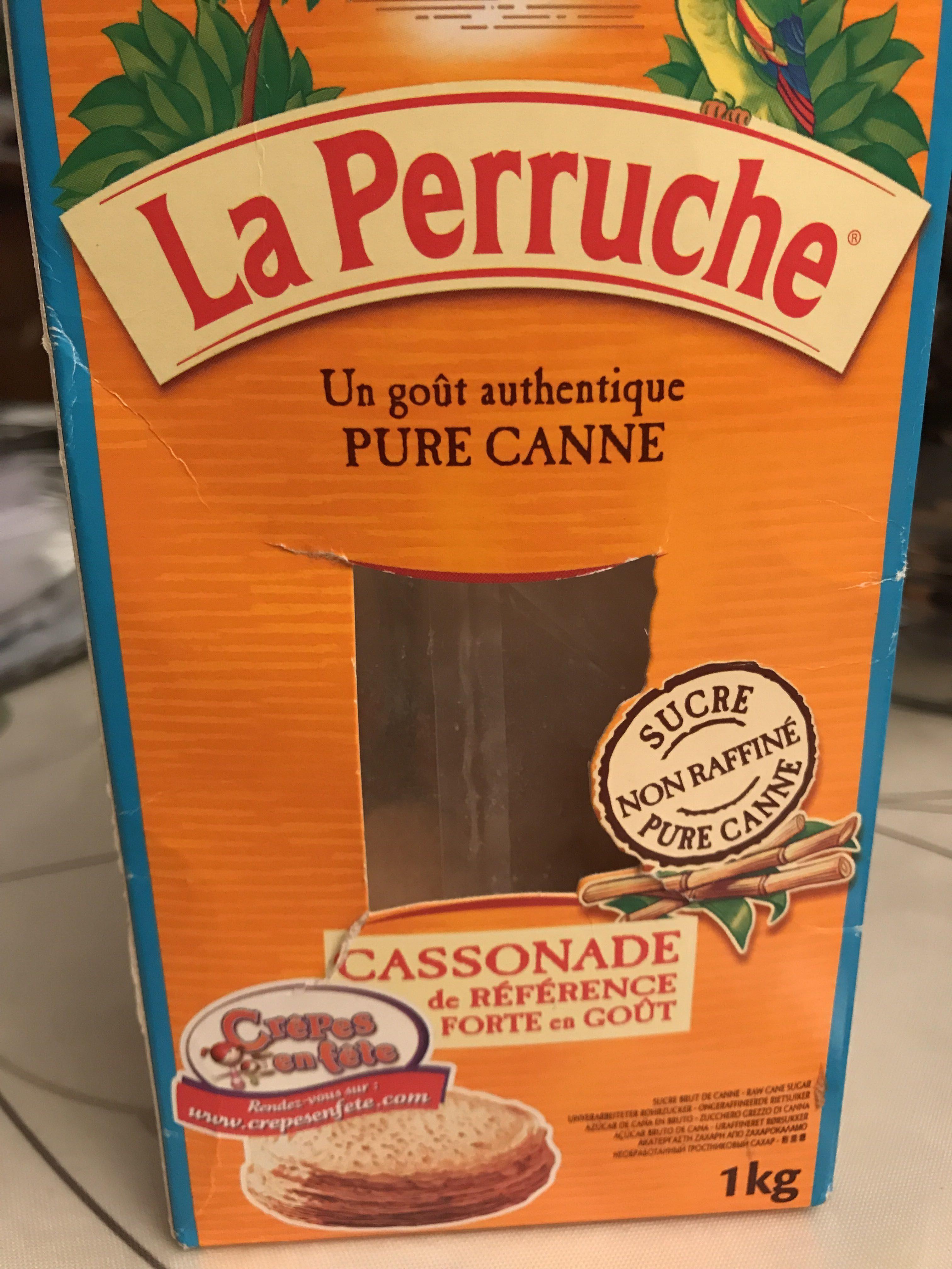 Sucre La Perruche Cassonade KG - Produit - fr
