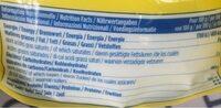 Sucre Poudre - Informations nutritionnelles - fr