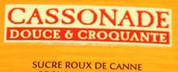 """""""La perruche"""" Cassonade douce & croquante - Ingrédients"""