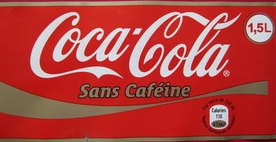 Coca Cola sans caféine - Prodotto - fr