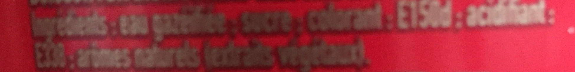 Coca Cola sans caféine - Ingredienti - fr