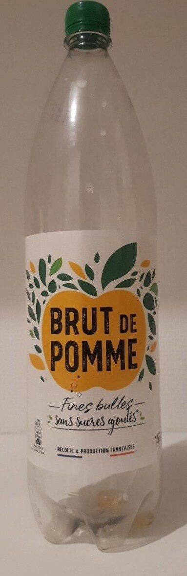 Brut de pomme - fines bulles - Produit - fr