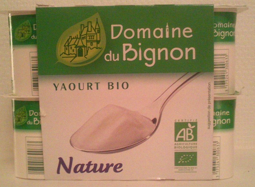 Yaourt Bio Nature - Produit - fr
