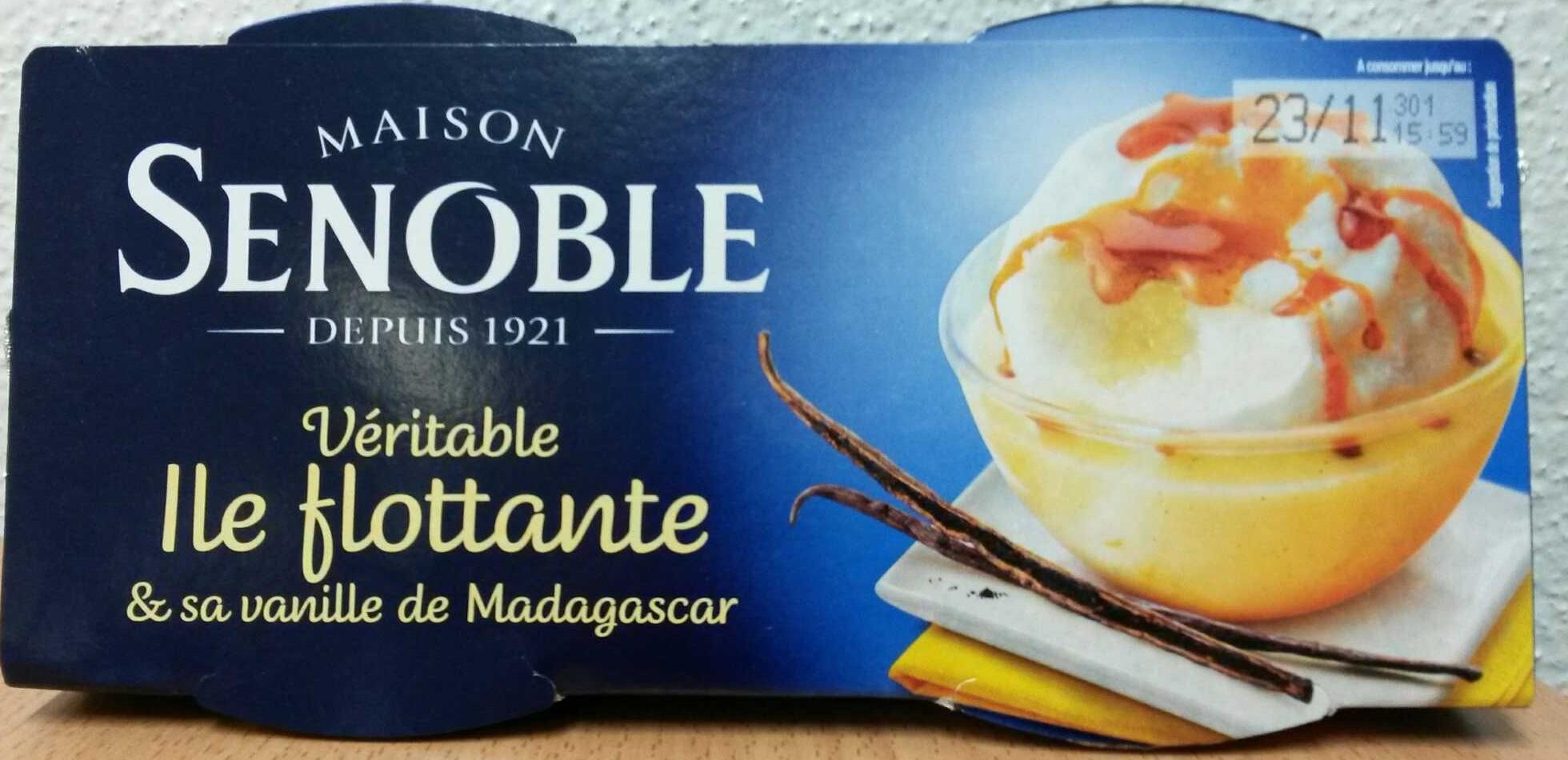 Véritable Ile flottante & sa vanille de Madagascar - Produit - fr