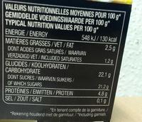 Véritable Ile flottante & sa vanille de Madagascar - Informations nutritionnelles - fr