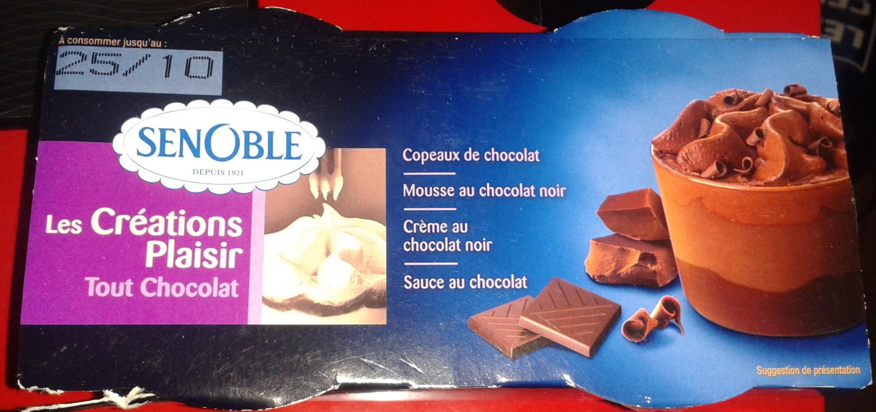 Les Créations Plaisir - Tout Chocolat - Product - fr