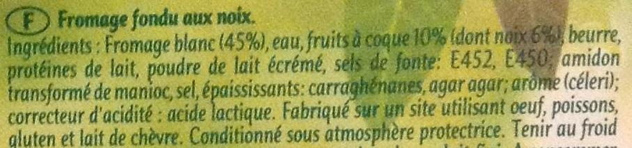 Rambol Croquant & Fondant - Ingrediënten
