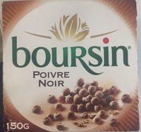 Boursin Poivre Noir - Produit - fr
