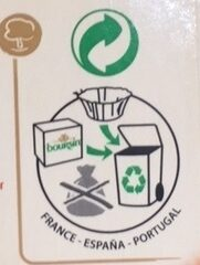 Boursin® Poivre Noir - Recycling instructions and/or packaging information - fr