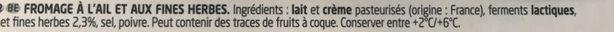 Ail & Fines Herbes, 10 portions (41 % MG) - Ingrediënten - fr