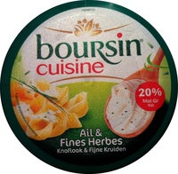 Cuisine Ail & Fines Herbes (20 % MG) - Product - fr