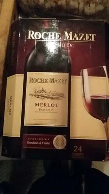 Roche Mazet - Merlot - Produit - fr
