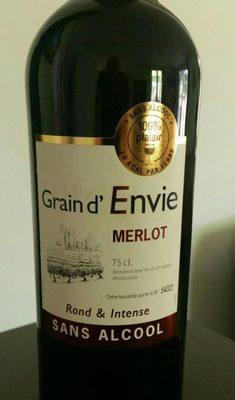 Grain d'envie Merlot sans alcool - Product - fr