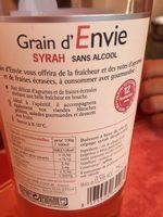 Grain d'envie - Ingredients - fr