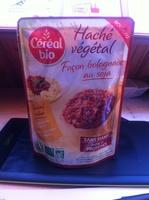 Haché végétal façon bolognaise au soja - Produit - fr